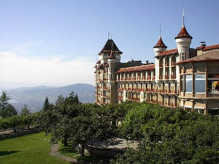 Ehemaliges Caux Palace...